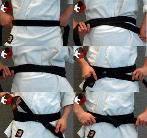 judo band knopen