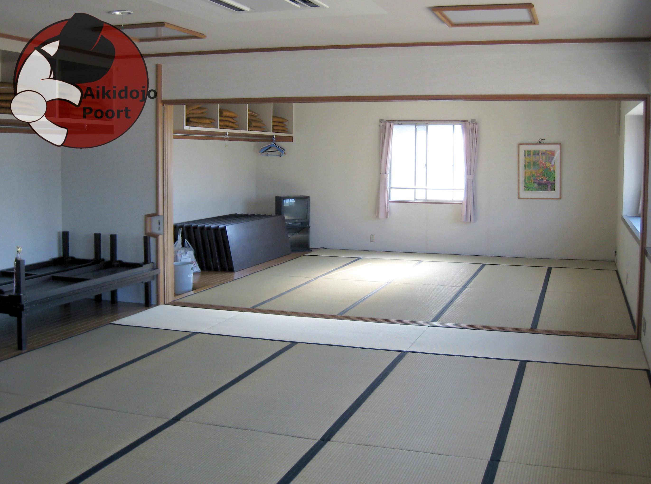 Tatami aikidojo poort - Japanse stijl kamer ...