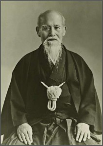 Morihei Ueshiba, grondlegger van Aikido