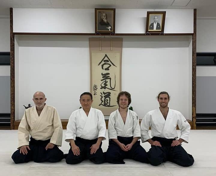 Hombu Dojo Yokota Shihan