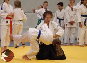 Talentontwikkeling programma ukemi training
