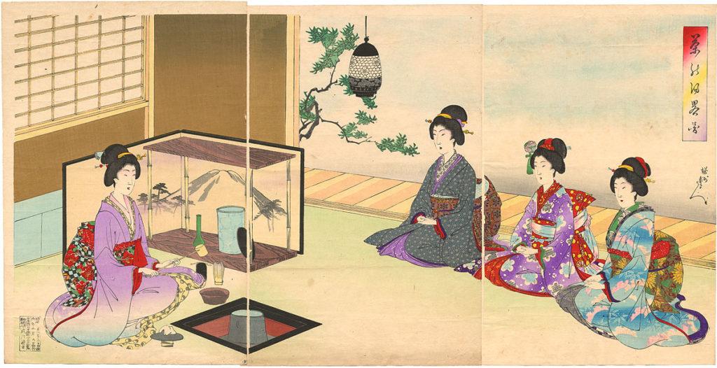Chado Japanse Thee Ceremonie