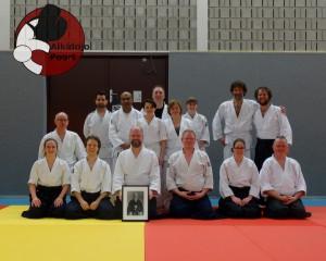 Aikido Almere Stage Groepsfoto