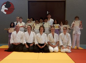 Aikido examens jeugd groepsfoto Almere