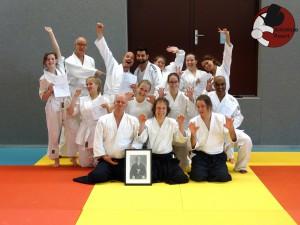 Aikido examens groepsfoto Almere